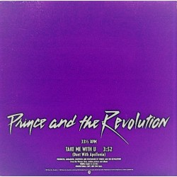 Prince And The Revolution - Take Me With U - Maxi Vinyl 12 inches - Promo USA - Minneapolis Pop Sound