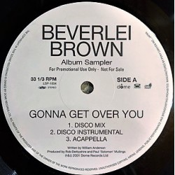 Beverlei Brown - Album Sampler Vinyl 12 inches Japan - Contemporary R&B