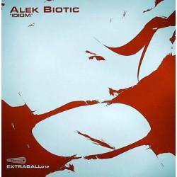 Alek Biotic - Idiom - Maxi 12 inches Vinyl - Techno Music