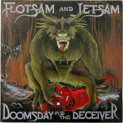 Flotsam And Jetsam - Doomsday For The Deceiver - LP Vinyl Album 1986 - Thrash Metal Speed