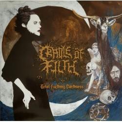 Cradle Of Filth - Total Fucking Darkness - Double LP Vinyl Albul - Black Metal