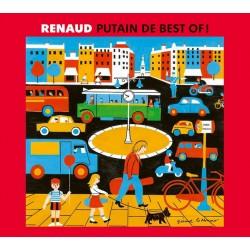 Renaud - Putain De Best Of - Triple CD Album - Compilation - Chanson Française
