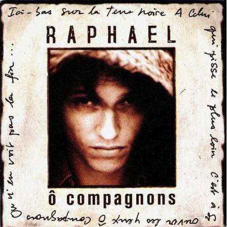 Raphaël Haroche - Ô Compagnons - CD Single Promo