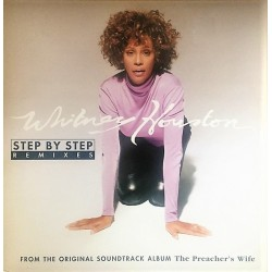 Whitney Houston - Step By Step - Remixes - Double Maxi 12 inches -  RnB Swing House