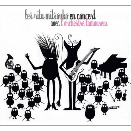 Les Rita Mitsouko - En Concert Avec L'Orchestre Lamoureux - Double LP Vinyl Album - Rock Français