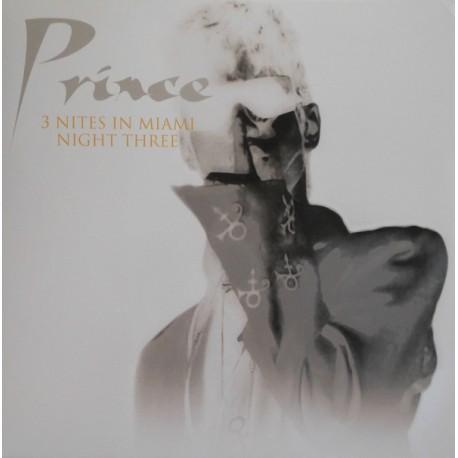 Prince - 3 Nites In Miami - Night Three - LP Vinyl Album - Funk Pop Music