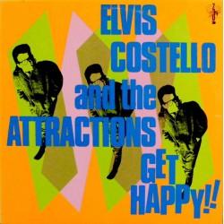 Elvis Costello And The Attractions - Get Happy!!  - LP Vinyl Album - Rock Music