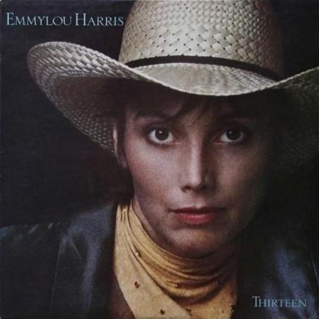 Emmylou Harris - Thirteen - LP Vinyl Album - Country Folk