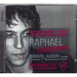 Raphaël Haroche - Caravane - CD Album + DVD Limited Edition
