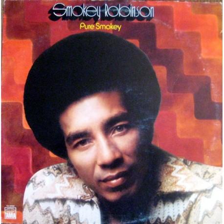 Smokey Robinson - Pure Smokey - LP Vinyl Album USA - Soul Music