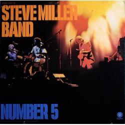 Steve Miller Band - Number 5 - LP Vinyl Album - BIEM 1970 - Blues Rock