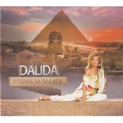 Dalida - Helwa Ya Baladi - CD Album Digipack - Oriental Raï Chanson