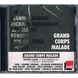 Grand Corps Malade - Il Nous Restera Ça - CD Album - Slam Rap Français