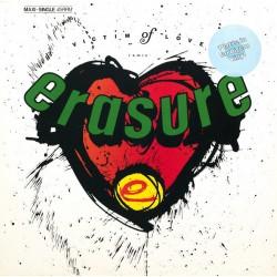 Erasure - Victim Of Love - Remix - Maxi Vinyl 12 inches - Coloured Yellow - New Wave