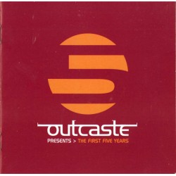 Outcaste Presents - The First Five Years - Double LP Vinyl Album - Compilation - Breakbeat Downtempo