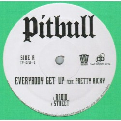 Pitbull Featuring Pretty Ricky - Everybody Get Up - Maxi Vinyl 12 inches - Rap US
