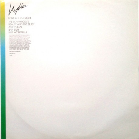Kylie Minogue - Love At First Sight - Maxi Vinyl 12 inches - Promo Edition - Pop House Music