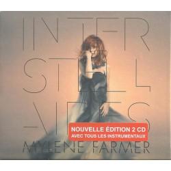 Mylene Farmer - Interstellaires - Double CD Album Green Box - Variété Française