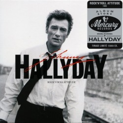 Johnny Hallyday - Rock'N'Roll Attitude - CD Album Replica Papersleeve LP - Limited Edition - Chanson Française