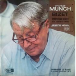 Charles Munch - Bizet - Symphonie En Ut Majeur - Jeux D'Enfants - Patrie - LP Vinyl Album - Classical Music