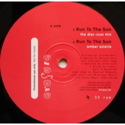 Erasure - Run To The Sun - Maxi Vinyl 12 inches Promo - New Wave Synth Pop