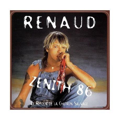 Renaud Séchan - Zenith 86 - Le Retour de la Chetron Sauvage - CD Album