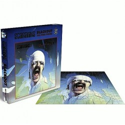Scorpions - Blacklout - Boxset Collector Puzzle 500 piece - Rock Saws Hard Rock