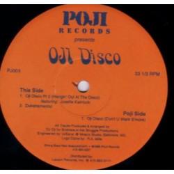 DJ Oji - Oji Disco - Maxi Vinyl 12 inches - House Garage