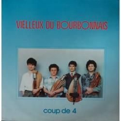 Vielleux Du Bourbonnais - Coup De 4 - LP Vinyl Album - Celtic Folk