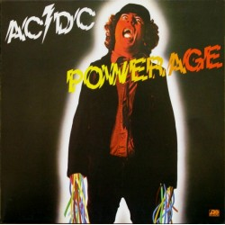 AC/DC - Powerage - LP Vinyl Album 1978 - Hard Rock Blues