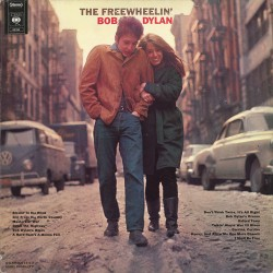 Bob Dylan - The Freewheelin' Bob Dylan - LP Vinyl Album 1975 - Folk Music