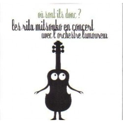 Les Rita Mitsouko - Ou Sont Ils Donc ? - CD Single Promo