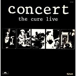 The Cure - Concert - The Cure Live - LP Vinyl Album 1984 - New Wave