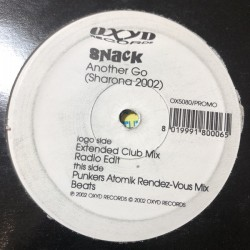 Snack (The Knack Cover) - Another Go (Sharona 2002) - Maxi Vinyl 12 inches Promo - House Music