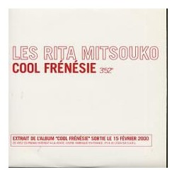 Les Rita Mitsouko - Cool Frénésie - CD Single Promo