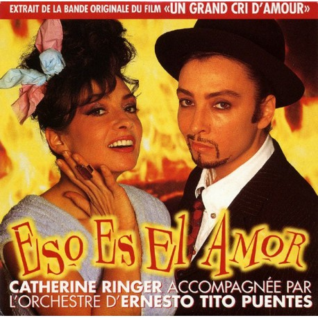 Catherine Ringer ( Les Rita Mitsouko ) - Eso Es El Amor - CD Single