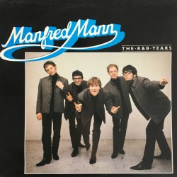 Manfred Mann - The R & B Years - LP Vinyl Album 1982 Mono - Rock Music