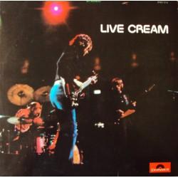 Cream - Live Cream - LP Vinyl Album 1970 - Blues Rock