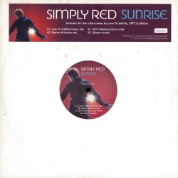 Simply Red - Sunrise - Maxi Vinyl 12 inches Promo UK - House Music