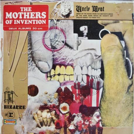 The Mothers Of Invention (Frank Zappa) - Uncle Meat - Double LP Vinyl Album - Progressive Experimental
