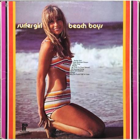 The Beach Boys - Surfer Girl - LP Vinyl Album - Surf Rock'n Roll
