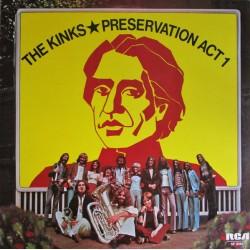 The Kinks - Preservation Act 1 - LP Vinyl Album UK 1973 - Rock Music