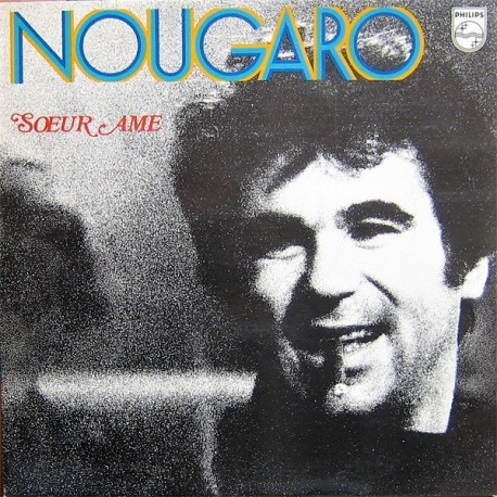 Nougaro - Soeur Âme - LP Vinyl Album - Chanson Française Jazz