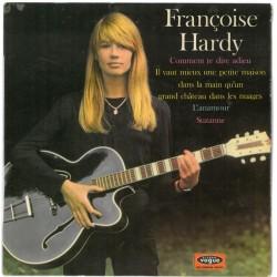 Françoise Hardy - Comment Te Dire Adieu - Vinyl 7 inches 45 RPM - Chanson Française Sixties
