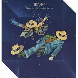 Traffic - Shoot Out At The Fantasy Factory - LP Vinyl Album 1973 - Progressive Rock