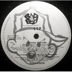 112 - Peaches & Cream - Dance With Me - Maxi Vinyl 12 inches USA - Rap US Hip Hop