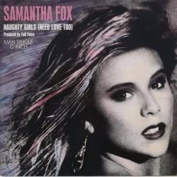 Samantha Fox - Naughty Girls - Maxi Vinyl 12 inches - Pop Music