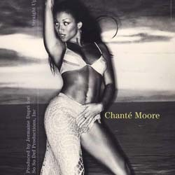 Chanté Moore - Straight Up - Maxi Vinyl 12 inches - Contemporary R&B