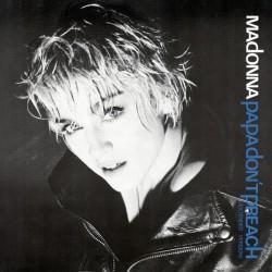 Madonna - Papa Don't Preach - Maxi Vinyl 12 inches - Dance Pop Music