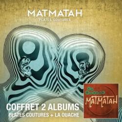 Matmatah - Plates Coutures + La Ouache - Double CD Album - Alternative Rock Français